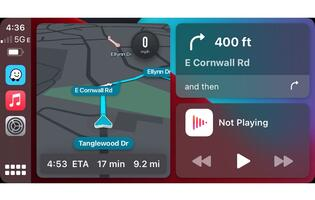 Waze now works with Apple CarPlay's multiscreen dashboard