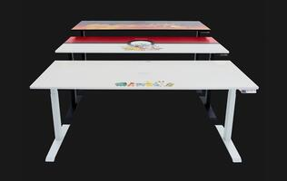 Omnidesk has launched three spicy limited-time Pokemon desk designs
