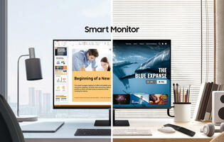 Holiday Gift Idea 7: A smart monitor that wants to be a TV for your desk
