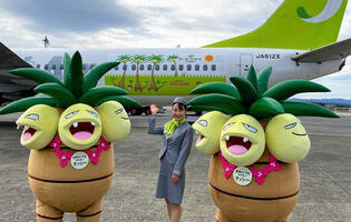 You can now travel in a Pokemon-themed airplane in Japan