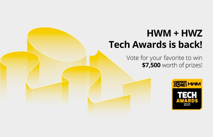 HWM + HWZ Tech Awards 2021 Readers' Choice Voting – Vote & Win!