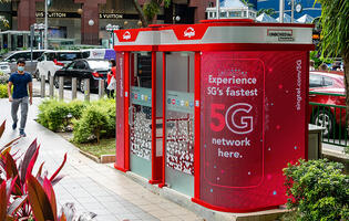 Singtel remodels old payphone booths into UNBOXED Lite stations with free 5G-powered Wi-Fi