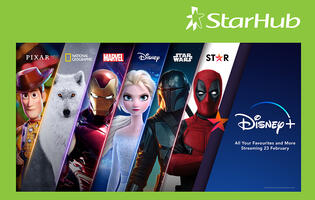 StarHub acquires official distribution rights to Disney+ at launch