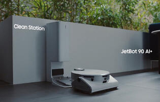 Samsung JetBot 90 AI+ smart robot vacuum combines object recognition tech, LiDAR, and 3D sensors to avoid fragile stuff
