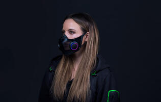 "Razer's Project Hazel is a ""Smart Mask"" with Chroma RGB"