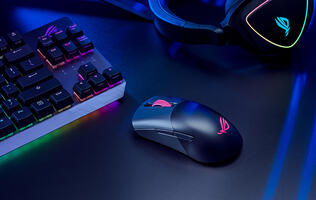 ASUS reveals a pair of lightweight gaming mice with the ROG Keris and Keris Wireless