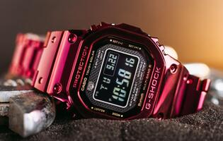 G-Shock drops new red GMW-B5000 watch just in time for Chinese New Year