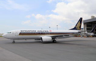 Singapore Airlines to fly its first Boeing 737-800 in March