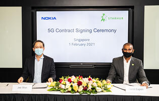 Nokia and StarHub jointly deploys cloud-native 5G core for Singapore's 5G SA users
