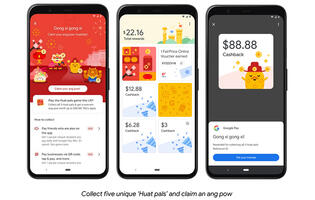 "Google Pay celebrates CNY 2021 with ""Huat pals"" angpow cashback (updated)"