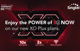 Singtel revamps old contract plans as XO Plus plans with 5G access built-in
