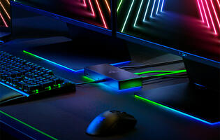 Razer launches its 10-port RGB USB dock, the Razer Thunderbolt 4 Dock Chroma