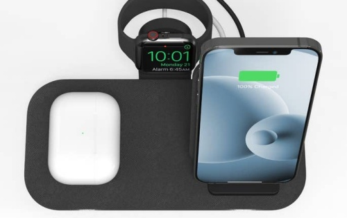 Mophie unveils a wireless charging stand for the iPhone, AirPods and Apple Watch
