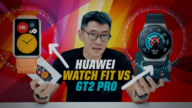 Huawei Watch Fit vs Watch GT 2 Pro video review: Budget lifestyle or affordable luxury?