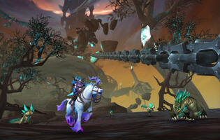 BlizzConline 2021: World of Warcraft reveals a massive new Shadowlands update