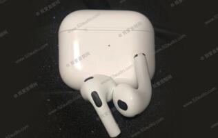 Purported photo of AirPods 3 shows AirPod Pro-like design and smaller case