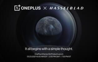 OnePlus confirms Hasselblad partnership, to unveil new phones on 23 March