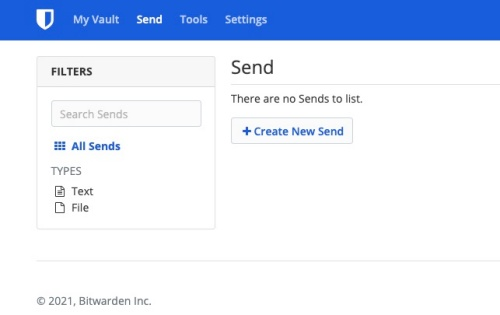 Bitwarden introduces new feature to send text and files securely
