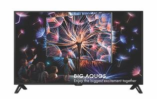 Singapore entertainment to get large as Sharp launches their new Big Aquos TVs