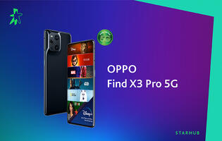 StarHub details its Oppo Find X3 Pro plans for Mobile+