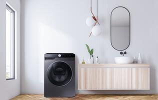 Let Samsung's new QuickDrive AI-powered washers take the hassle out of laundry runs