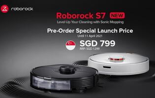 Roborock S7 robot vacuum available now for pre-order on Shopee