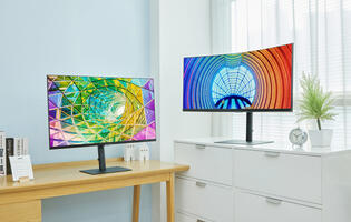 Samsung's new S6 and S8 monitors target business and creative users