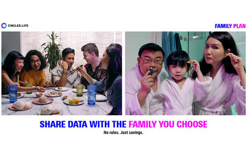 Circles.Life's new Family Plan is a no-contract data sharing plan for anyone you call family