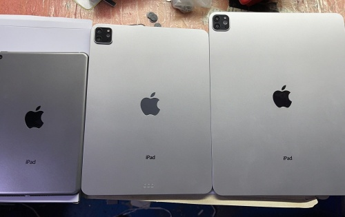 Dummy units of new iPad Pros and iPad Mini 6 revealed
