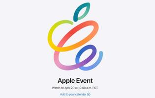 "Apple announces ""Spring Loaded"" event for 20 April"