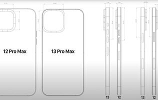 Leaked CADs reveal bigger camera dimensions for the iPhone 13 lineup