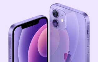 The iPhone 12 and iPhone 12 Mini now comes in purple