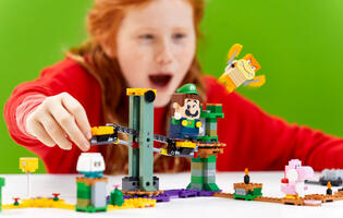 LEGO have revealed a new Super Mario starter course featuring Luigi