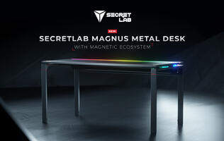 The new Secretlab MAGNUS is a PC Metal Desk with a magnetic ecosystem