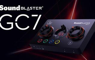 Creative Sound Blaster GC7 Review: It's a nice cherry to have on your audio ice cream cone