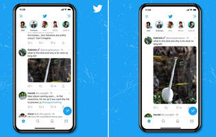 Twitter for Android and iOS gets larger, longer image previews in Tweets