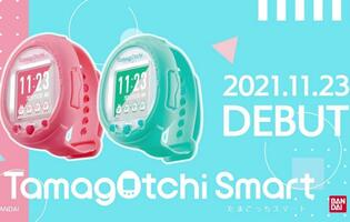 Tamagotchi is coming back as a smartwatch with touch and voice controls