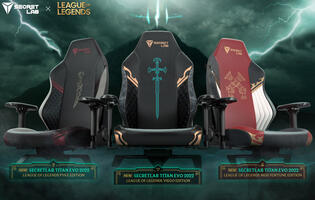 Secretlab reveals its new League of Legends Ruination Collection of chairs