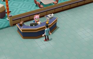 Two Point Hospital is getting a funky costume crossover for Sonic's 30th anniversary