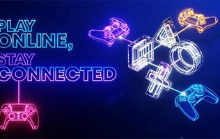 """Sony's """"Play Online, Stay Connected"""" campaign for PlayStation gamers will run till 17 Oct"""