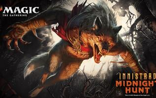 Werewolves join the fray in Magic: the Gathering's new Innistrad: Midnight Hunt booster