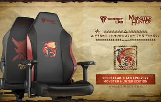 Secretlab's first Monster Hunter gaming chair features Rathalos