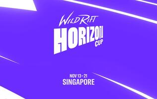 The first Wild Rift Horizon Cup unfolds at the Suntec City Convention Centre from 13-21 Nov