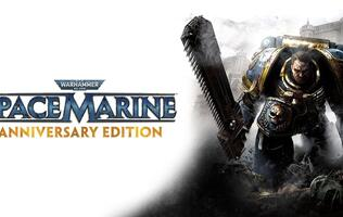 The Warhammer 40,000: Space Marine Anniversary Edition is now available on Steam