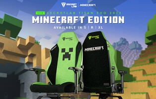 Minecraft gets its own Secretlab gaming chair collaboration