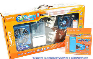 First Looks: Gigabyte 3D Galaxy II and Blue Eye Liquid Cooling Kits