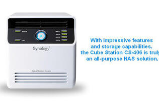 First Looks: Synology Cube Station CS-406