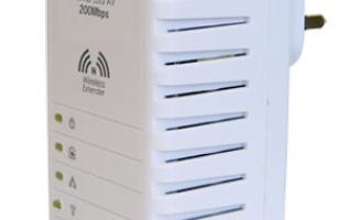 First Looks: Aztech HL110EW 200Mbps HomePlug AV 2-Port Wireless-N Extender