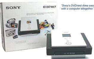 First Looks: Sony DVDirect VRD-MC1