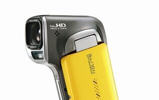 SANYO Announces World's First Waterproof Full HD3 Dual Camera